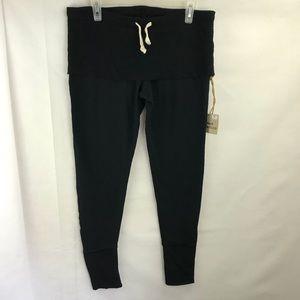 R+R Surplus Pants - R+R surplus french terry rollover twist legging